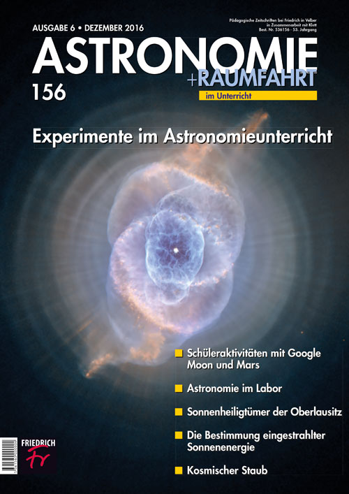 Experimente im Astronomieunterricht