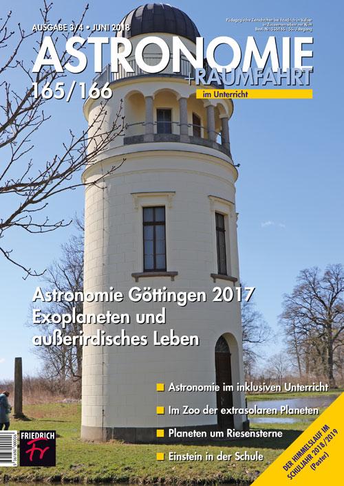 Astronomie Göttingen 2017 Exoplaneten und außerirdisches Leben