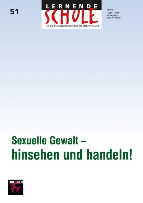 Sexuelle Gewalt – hinsehen und handeln!