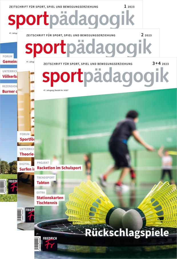 sportpädagogik - Jahres-Abo mit Prämie