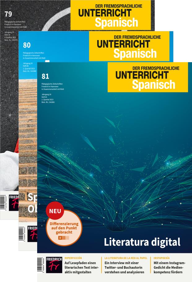 Unterricht Spanisch - Jahres-Abo mit Prämie