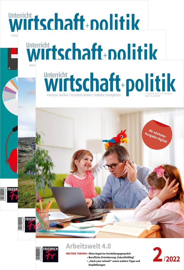 Zur digitalen Ausgabe: Unterricht Wirtschaft + Politik