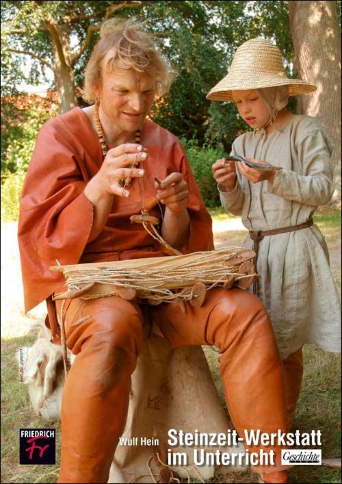 Steinzeit-Werkstatt im Unterricht
