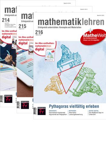 mathematik lehren - Jahres-Abo mit Prämie