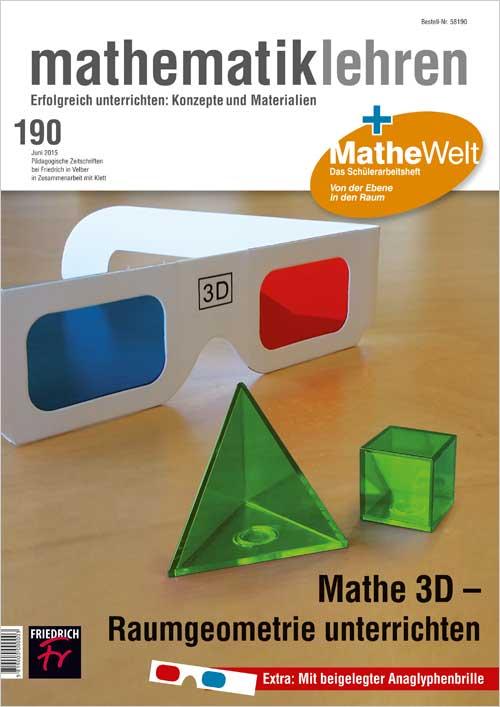 Mathe 3D – Raumgeometrie unterrichten