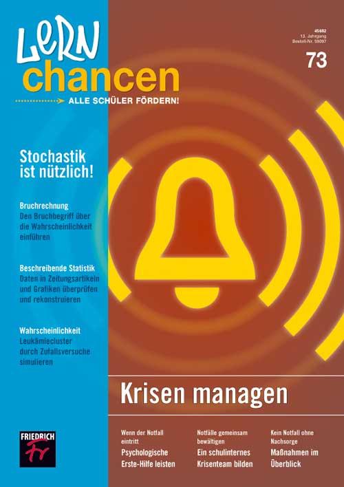 Krisen managen / Stochastik ist nützlich