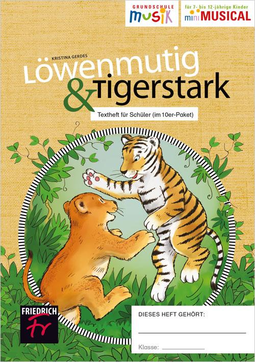 Löwenmutig & Tigerstark: Schülerhefte im 10erPaket