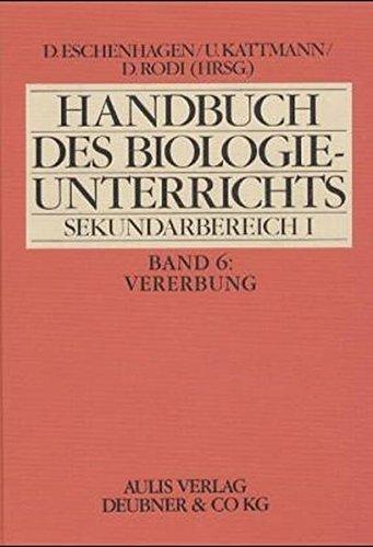 Handbuch des Biologieunterrichts S I