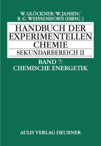 Handbuch der experimentellen Chemie S II
