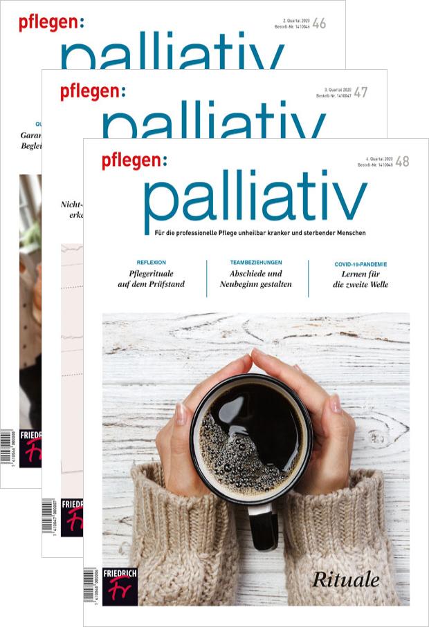 pflegen: palliativ - Jahres-Abonnement mit Prämie