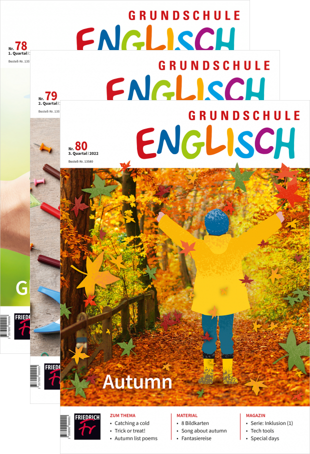 Grundschule Englisch - Jahres-Abo mit Prämie