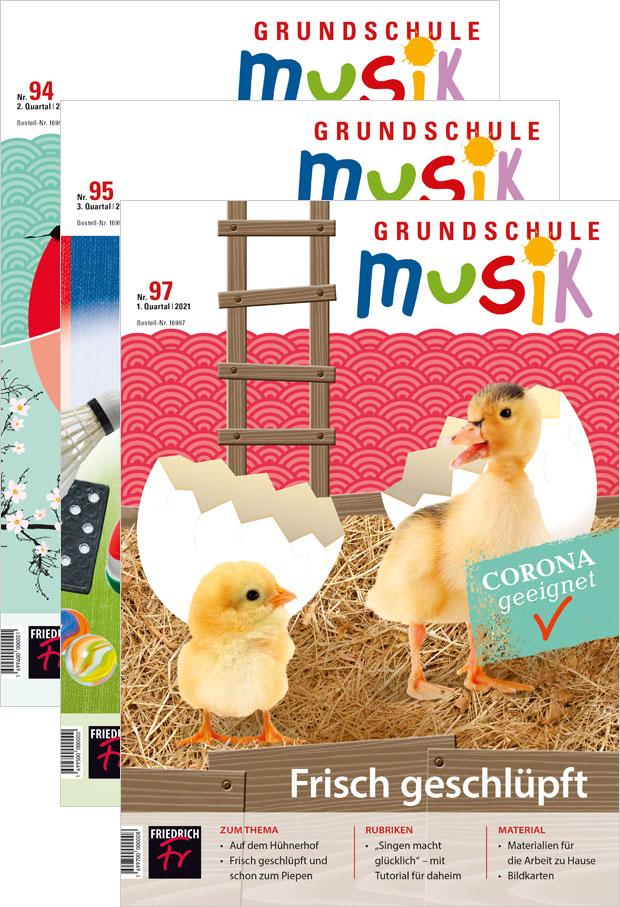 Grundschule Musik - Jahres-Abo mit Prämie