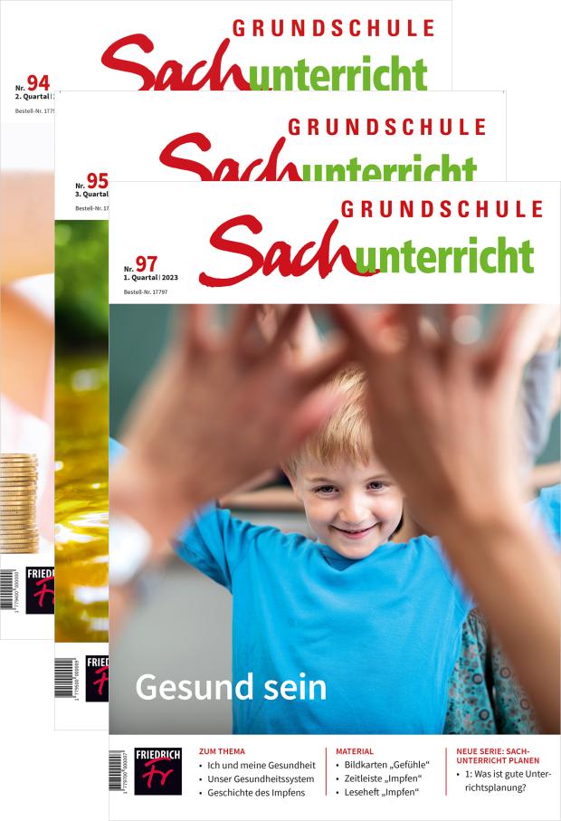 Grundschule Sachunterricht - Jahres-Abo mit Prämie