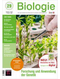 Forschung und Anwendung der Genetik – Heft