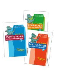 Mathe-Flyer 1–3 zum Üben und Wiederholen